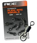 ACE Flexi Rig Swivels - Size 8 вертлюжок